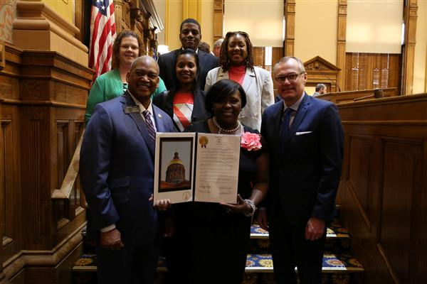 Senate Resolution 302 Recognition