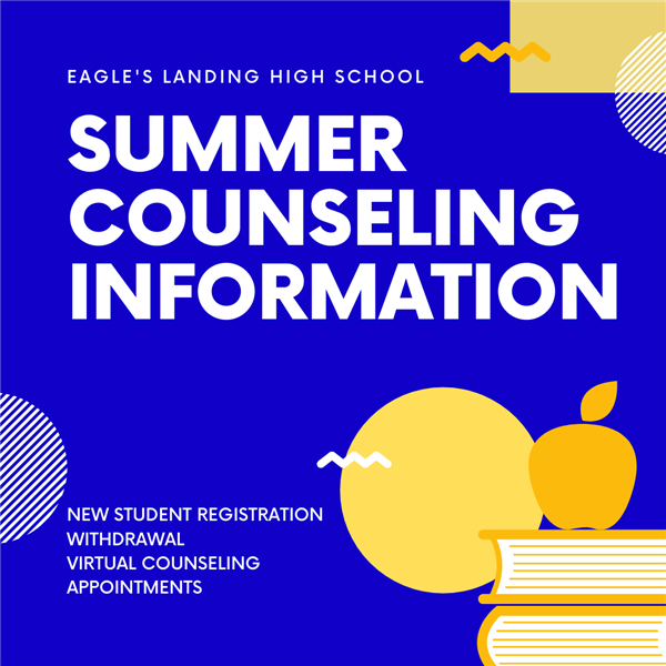 Summer Counseling Information