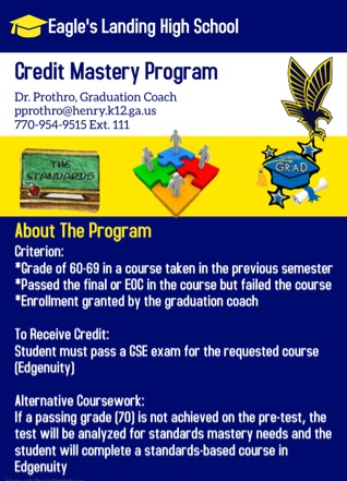 Credit Mastery Program flyer