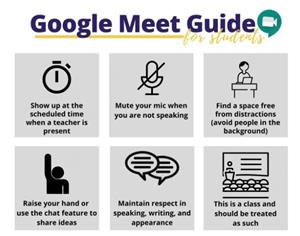 Student Expectations for Google Meet