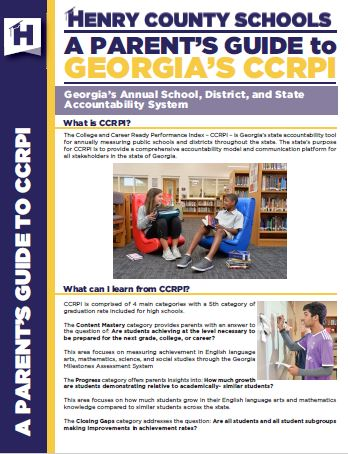 Parent's Guide to CCRPI