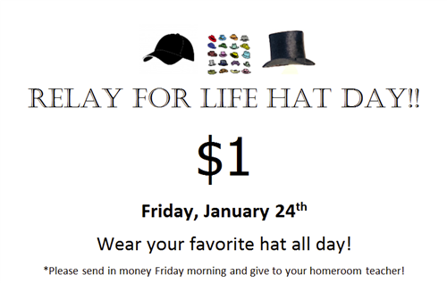 Relay for Life Hat Day