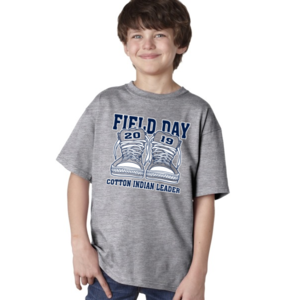 Get your Cotton Indian Field Day Gear!
