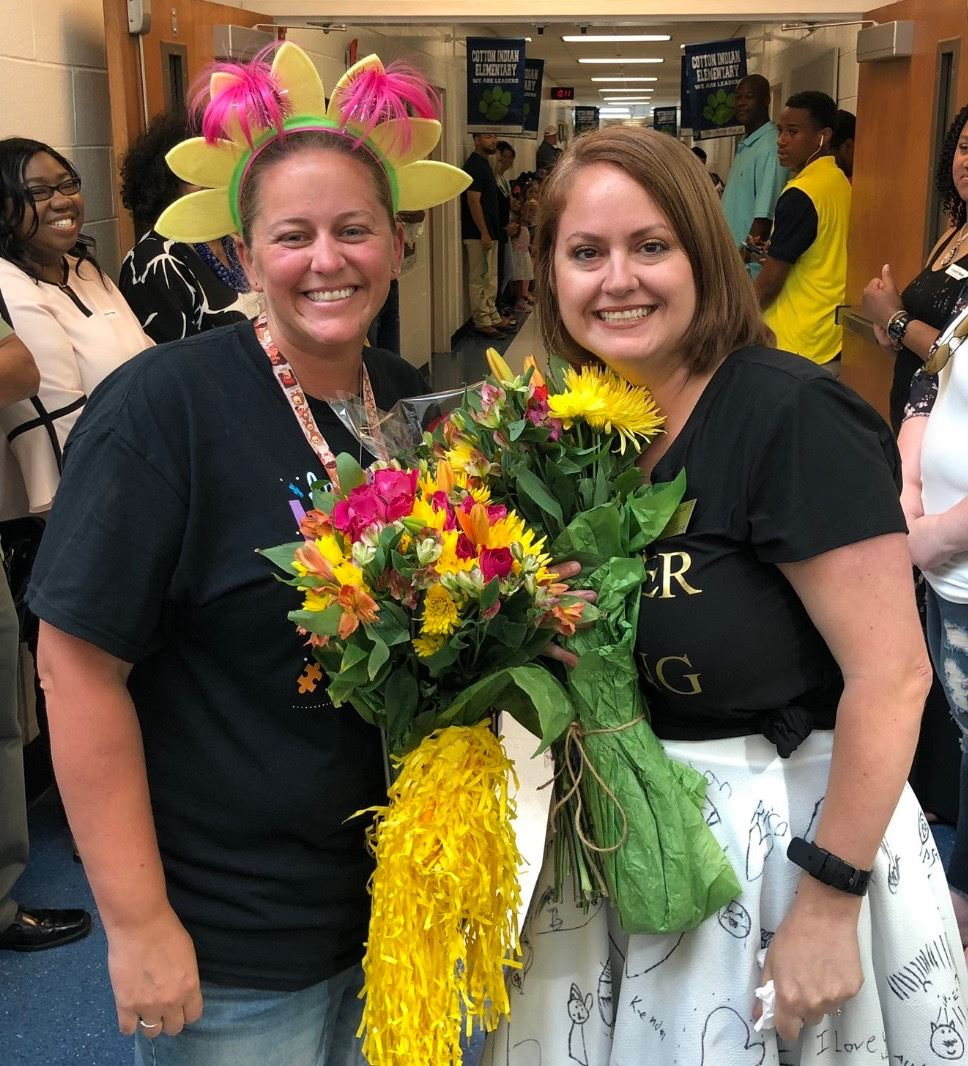 Teacher and Staff Member of the Year!