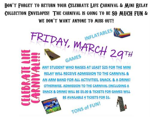 Relay for Life Carnival