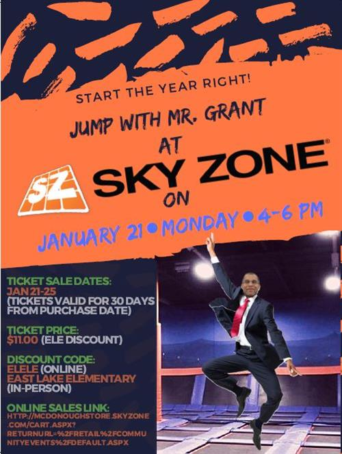 Skyzone Night with Mr. Grant
