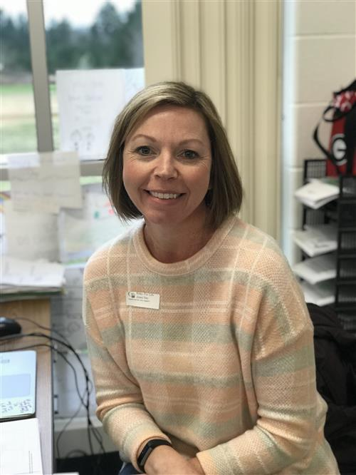 February Teacher of the Month - Michelle Crerie