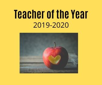 2019-2020 Teacher of the Year