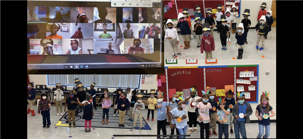 Kindergarten Thanksgiving Performance