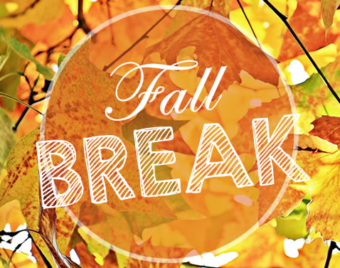 Fall Break  Sept. 21st- 25th