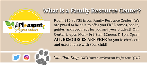 What is a Family Resource Center Banner
