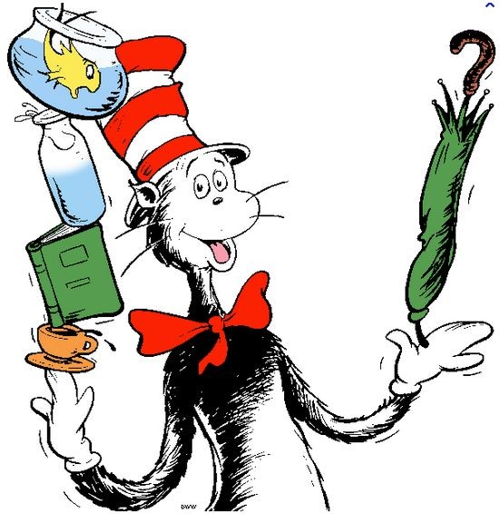 Read Across America Week! Click Here for Spirit Week Info!