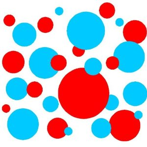 Colorful dots Picture