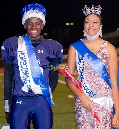 CONGRATS TO OUR 2020 HOMECOMING KING & QUEEN!