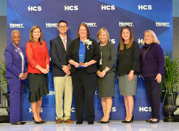 Ms. Jaime Henck - LHS Teacher of the Year chosen a semi-finalist for HCS Teacher of the Year and then the Finalist for HCS High School Teacher of the Year.