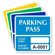 Parking Decal Information