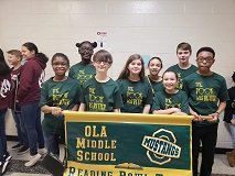Congratulations Reading Bowl Team- 1st Place in County!