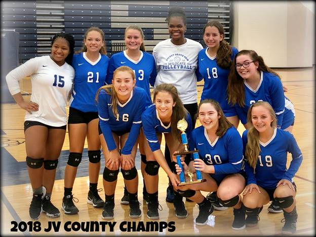 JV COUNTY CHAMPS!