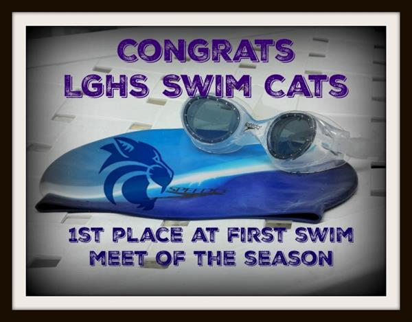LGHS Swim Cats Win Big at first meet