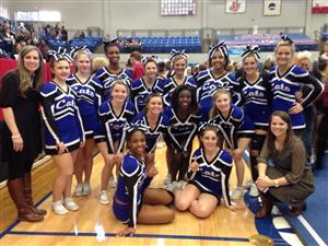 Garner High School Cheerleading
