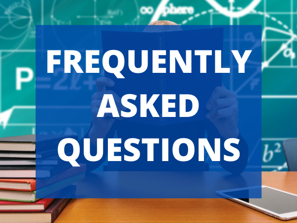 FAQ's for On Campus Learning