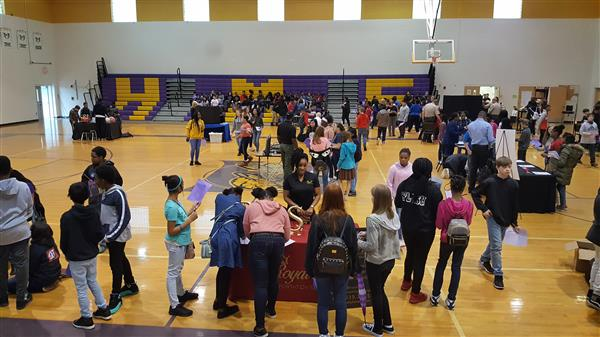 College and Career Day at HMS
