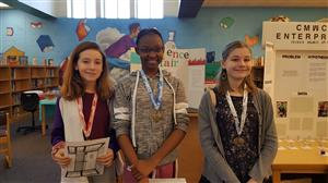 HMS Science Fair Winners (click for more images)