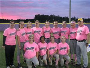 Lady Hornets Have Gone PINK!