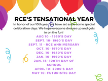 RCE'S TENSATIONAL YEAR