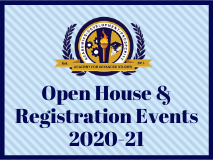 Open House and Registration Events 2020-21