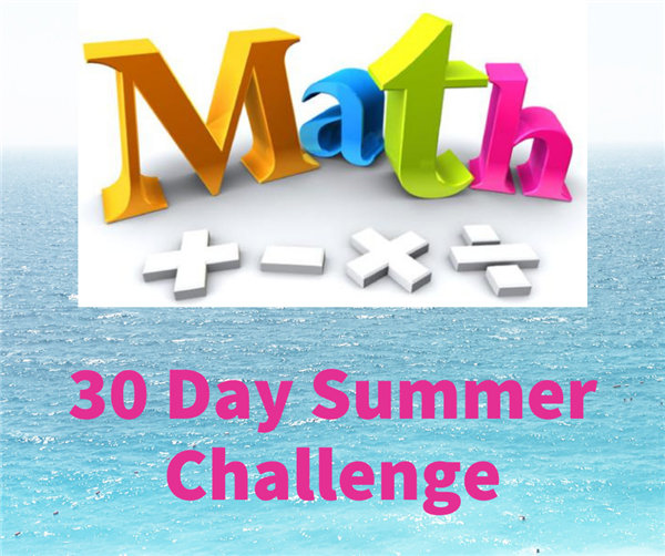 Math 30 Day Summer Challenge