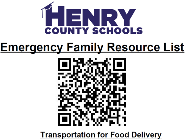 Emergency Resources List - Henry County