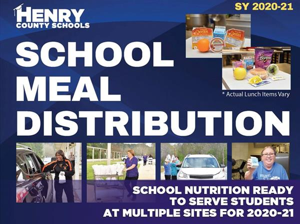 School Meal Distribution Information
