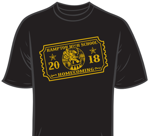 Homecoming T-Shirts Are On Sale for $15 in the Main Office!