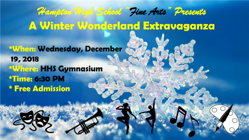"Fine Arts Department Presents a ""Winter Wonderland Extravaganza"" on Dec. 19"