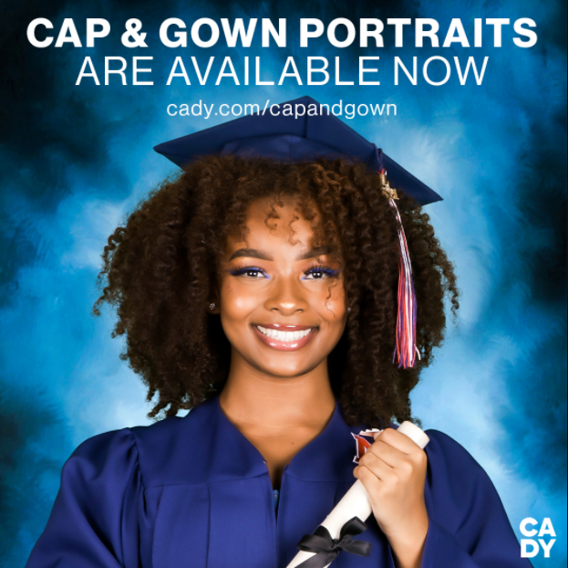 Cap and Gown Portraits Are Now Available for Purchase!