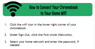 How to Connect Your Chromebook to Your Home Wifi