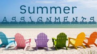 Follow the link for your Summer Assignments by Subject!