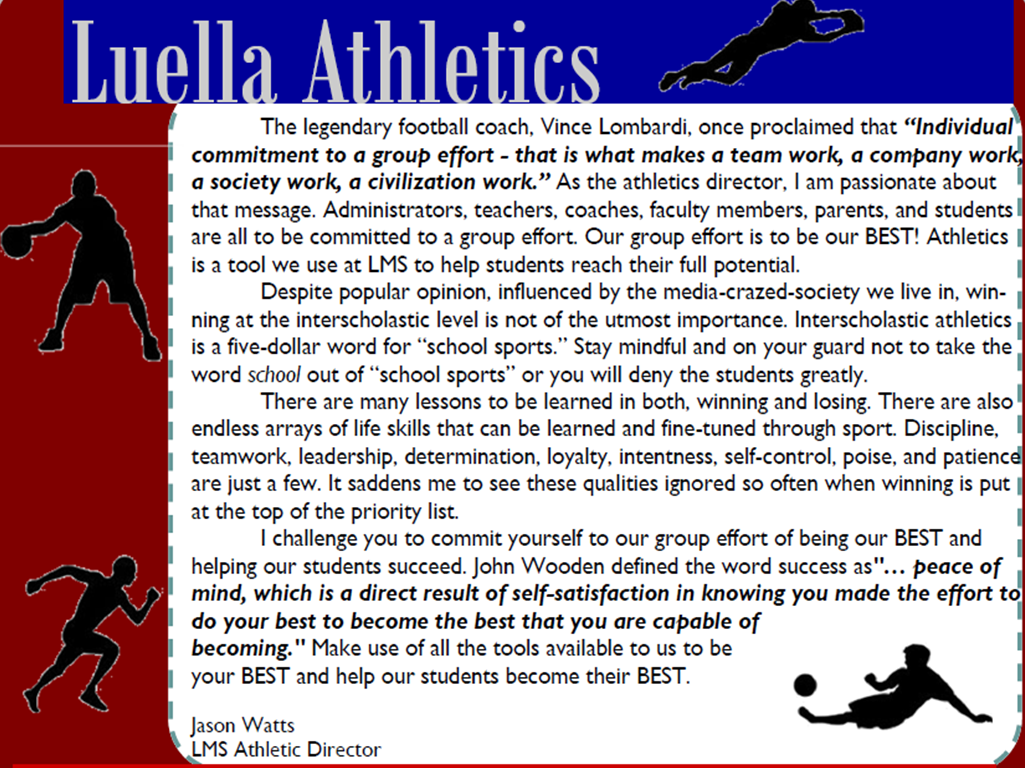 LMS Newsletter