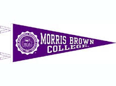 """Morris Brown College's Motto is """"To God and Truth""""."""