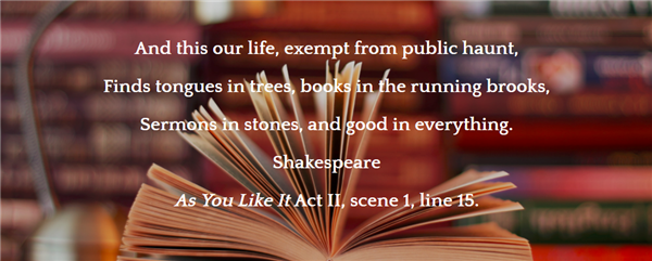 As You Like It, W. Shakespeare