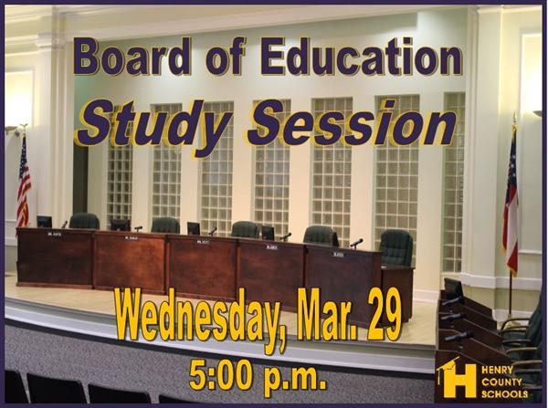 BOE April Study Session