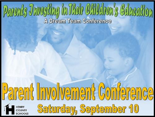 Parent Involvement Conference
