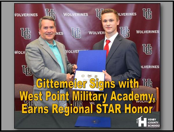 Gittemeier Signs with West Point