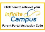 Parent Portal Activation Code