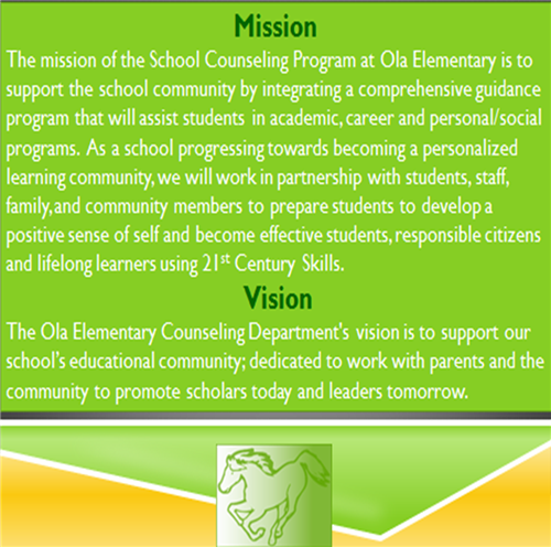 Counselors / Counseling Mission Statement and Vision