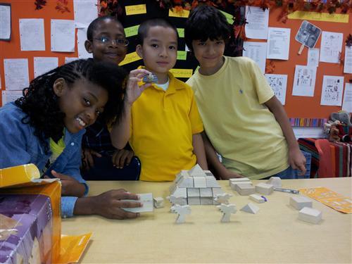 Building an Egyptian Pyramid