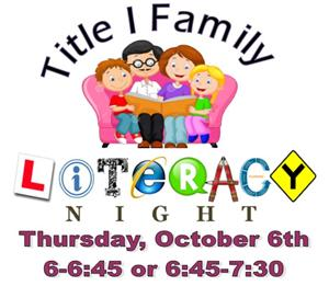 Literacy Night Logo