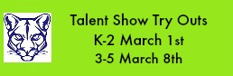 Talent Show Try Outs