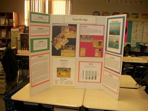 2nd grade   science fair project